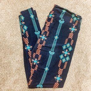 Aztec TC Lularoe Leggings